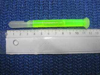 4 INCH LIGHTSTICK - GREEN